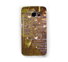 Love Language Samsung Galaxy Case/Skin