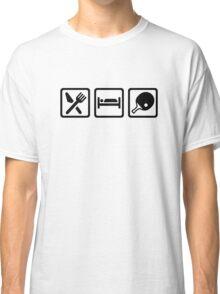Eat Sleep Ping Pong Classic T-Shirt