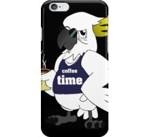 Funny Coffee Time new iPhone Case/Skin