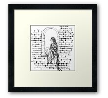 The Maiden In The Tower  Framed Print