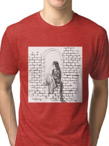 The Maiden In The Tower  Tri-blend T-Shirt