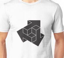 3D Black Arrows Unisex T-Shirt