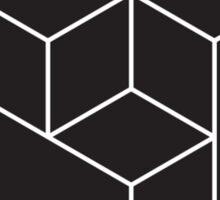 3D Black Arrows Sticker