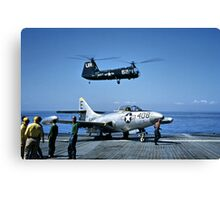 F9F Panther  Canvas Print