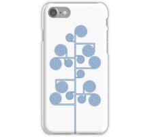 Hypnotic Tree *BLUE* iPhone Case/Skin