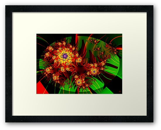 Fractal Dahlias by Paolo Galuppi