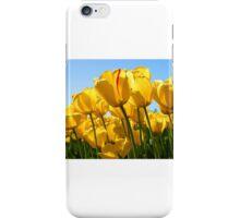 tulipani gialli iPhone Case/Skin