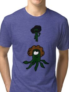 Aliens with Afros Tri-blend T-Shirt