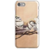 Double Bars on Wire iPhone Case/Skin