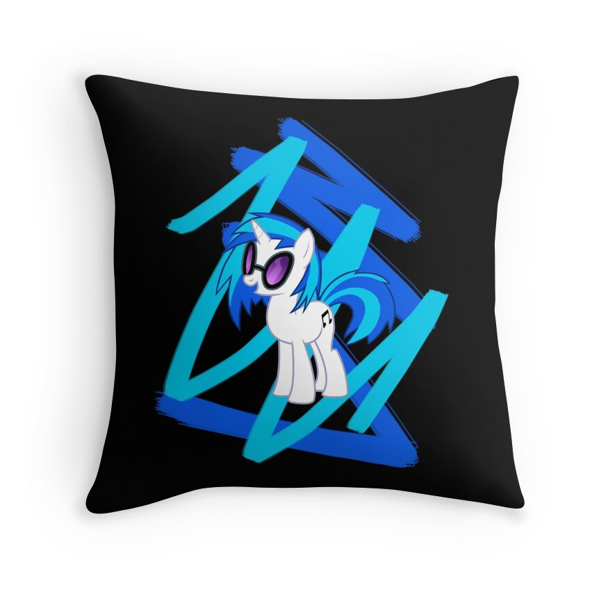Vinyl Throw Pillows :