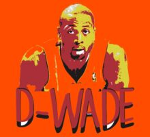 D-WADE Stencil Design Kids Clothes