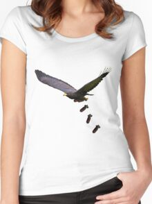 Cool Eagle  Women's Fitted Scoop T-Shirt
