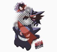 Pokemon - Gastly Haunter Gengar - no 094 Kids Clothes