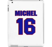National Hockey player Michel Bergeron jersey 16 iPad Case/Skin