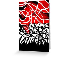 Engulfed in Vines Greeting Card