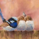 Family of Wrens by JulieWickham