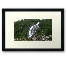 Bodensee Waterfall Framed Print