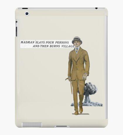 MADMAN. iPad Case/Skin
