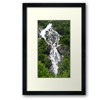 Bodensee Waterfall 02 Framed Print