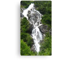Bodensee Waterfall 02 Canvas Print