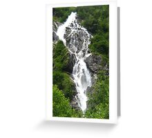 Bodensee Waterfall 02 Greeting Card