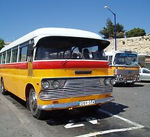 Malta Bus by gayler