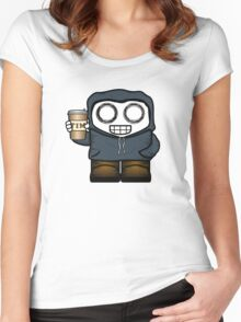 Winter Fun - Hot Chocolate Women's Fitted Scoop T-Shirt