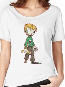 pirate boy: oliver Women's Relaxed Fit T-Shirt