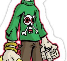 pirate boy: oliver Sticker