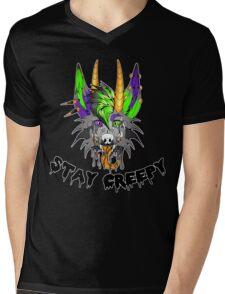 Stay Creepy Mens V-Neck T-Shirt