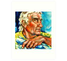 Portrait of the Sculptor, Frederick L. Gregory Art Print