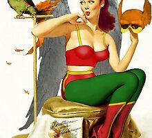 Hawkgirl Pin-Up 01 by TheWrightMan