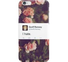 I Hate. iPhone Case/Skin