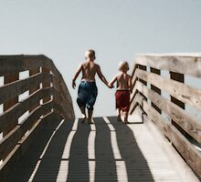 Headed to the Beach by Emily Peak