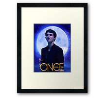 Peter Pan Once Upon a Time Framed Print