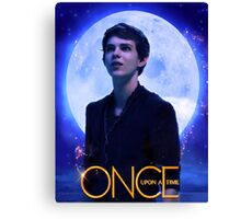 Peter Pan Once Upon a Time Canvas Print