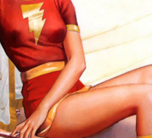 Mary Marvel Pin-Up 01 Sticker