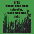 Gras T-Shirt German by Hallo Wildfang