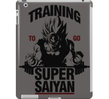 Training to go Super Saiyan iPad Case/Skin