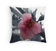 Tenticles (B&W) Throw Pillow