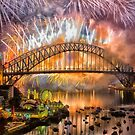 What a Blast - Sydney New Years Day 2015 # 3 by Philip Johnson