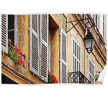 A house in Aix-en-Provence Poster