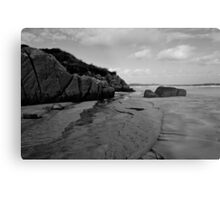 Anagry Beach, Co Donegal B/W Metal Print
