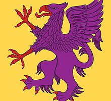 Purple Griffin by Richard Fay