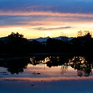 Sunset Reflections by Faith Barker Photography