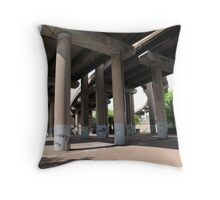 Spaghetti Junction #1 Throw Pillow