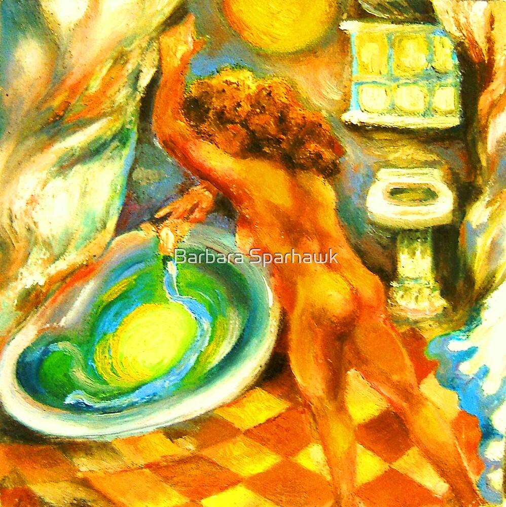 The Alchemist, SOLD (to Paris) 8/4/10 by Barbara Sparhawk