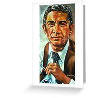 Portrait of Chris Borgen Greeting Card