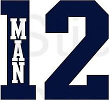 12th Man Seahawks Photographic Print