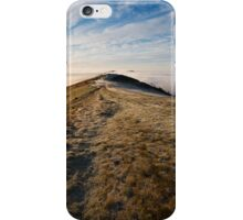 A Foggy Winter's Day in Malvern iPhone Case/Skin